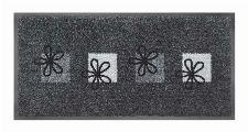 Bild: Schmutzfangmatte Blumen (Grau)