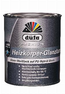 Bild: Premium Heizkörperlack glänzend (Weiß; 2.5 Liter)