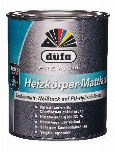 Bild: Premium Heizkörperlack seidenmatt (Weiß; 2.5 Liter)