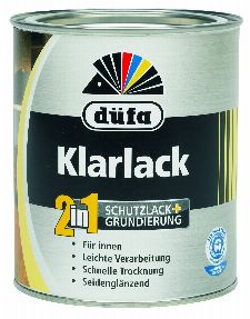 Bild: Klarlack 750 ml (Transparent; 750 ml)