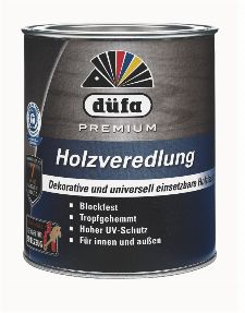 Bild: Holzlasur - Premium Holzveredlung (Transparent; 2.5 Liter)