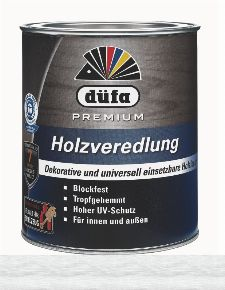 Bild: Holzlasur - Premium Holzveredlung (Weiß; 750 ml)