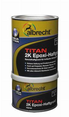 Bild: Aqua Titan 2K Epoxi-Haftgrund - Kombigebinde (Weiß; 1 Liter)