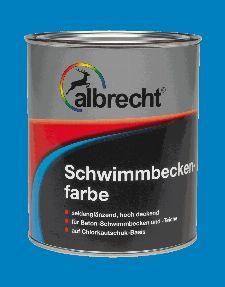 Bild: Schwimmbeckenfarbe (RAL 0120; 750 ml)