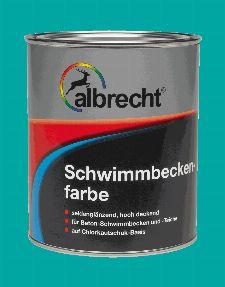 Bild: Schwimmbeckenfarbe (RAL 0118; 750 ml)