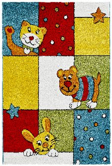 Bild: Kinderteppich - Hello (Multi; 80 x 150 cm)