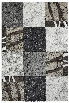 Bild: Moderner Teppich - Fantasy (Blau; 160 x 230 cm)