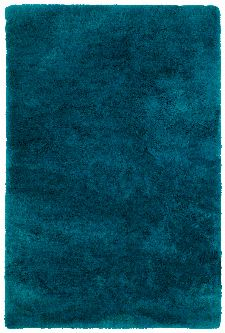 Bild: Glanz Teppich - Curacao (Petrol; 200 x 290 cm)