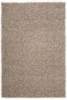 Bild: Günstiger Hochflorteppich - Funky (Beige; 40 x 60 cm)