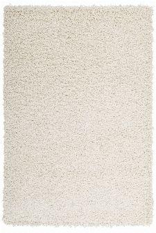 Bild: Günstiger Hochflorteppich - Funky (Creme; 40 x 60 cm)