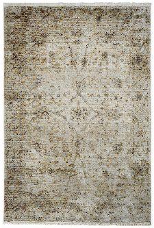 Bild: Teppichläufer mit Fransen im Used Look - Pure (Beige)