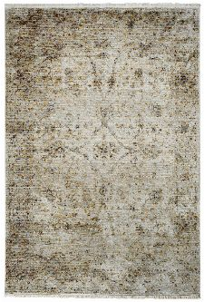 Bild: Fransenteppich im Used Look - Pure (Beige; 120 x 170 cm)