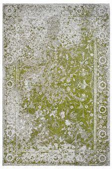 Bild: Jaquard Flachgewebe Teppich - Border (Grün; 77 x 150 cm)