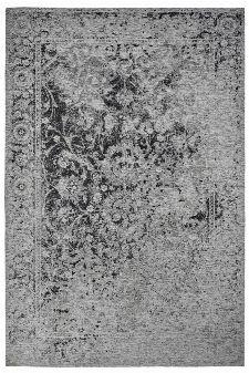 Bild: Jaquard Flachgewebe Teppich - Border (Schwarz; 57 x 110 cm)