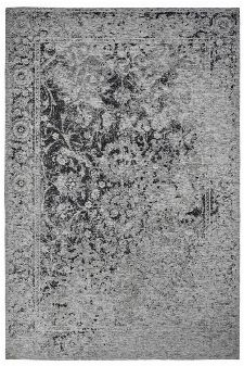 Bild: Jaquard Flachgewebe Teppich - Border (Schwarz; 120 x 170 cm)