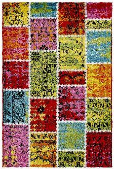 Bild: Jugendteppich - Patchwork (80 x 150 cm)