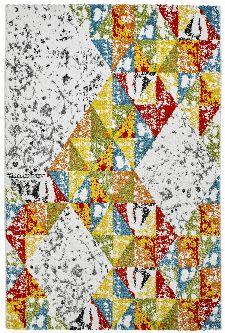 Bild: Farbiger Vintage Teppich - Fantasy (80 x 150 cm)