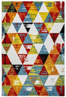 Bild: Kurzflor Teppich - Ethno Style (160 x 230 cm)
