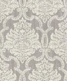 Bild: Rasch Textil Tapete Nubia 085319 - Ornamentmotiv (Grau)