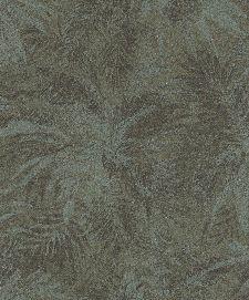 Bild: Rasch Textil Tapete Abaca 229102 - Blättermotiv (Waldgrün)