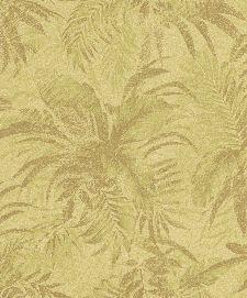 Bild: Rasch Textil Tapete Abaca 229133 - Blättermotiv (Hellgelb)