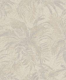 Bild: Rasch Textil Tapete Abaca 229164 - Blättermotiv (Beige)