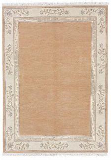 Bild: Original Nepal Bordürenteppich Classica (Apricot; 200 x 300 cm)