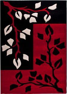 Bild: Teppich Florida 902 (Rot; 120 x 170 cm)