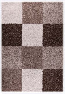 Bild: Teppich Shaggy Basic 171 (Braun; 160 x 230 cm)