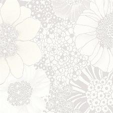 Bild: Missoni Home Tap. (Blumen) Anemones M1A10005 (Weiß)