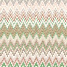 Bild: Missoni Home Tap. Zig Zag Multicolore M1A10065 (Grün/Braun)