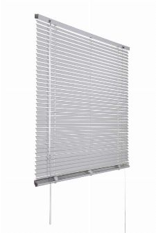 Bild: Aluminium Jalousie (Silber; 240 x 100 cm)