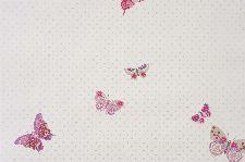 Bild: GIRLS ONLY Tapete GLN61974015 - Schmetterlinge (Hellgrau)