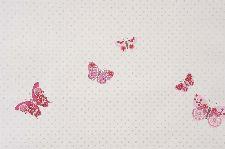Bild: GIRLS ONLY Tapete GLN61974080 - Schmetterlinge (Rosa)