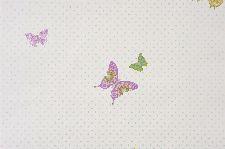 Bild: GIRLS ONLY Tapete GLN61978030 - Schmetterlinge (Flieder)