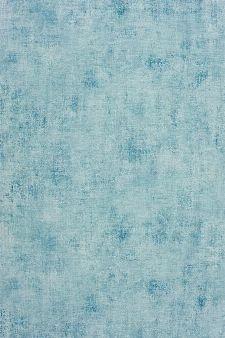 Bild: Caselio Faux-Uni Tapete TELA63626001 (Blau/Weiß)