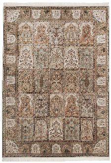 Bild: Teppich Sirsa Silk touch Bakhtiyari K (Creme; 170 x 240 cm)