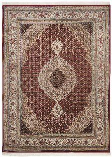 Bild: Teppich Sirsa Mahi Tabriz (Rot; 140 x 200 cm)