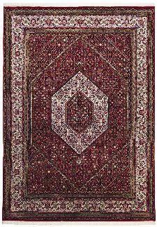 Bild: Teppich Sirsa Seta Bidjar (Rot; 70 x 140 cm)