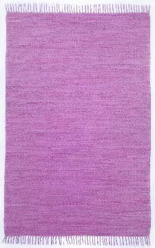 Bild: Webteppich Happy Cotton Uni (Lila; 60 x 40 cm)
