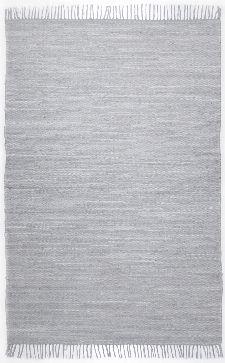 Bild: Webteppich Happy Cotton Uni (Grau; 230 x 160 cm)