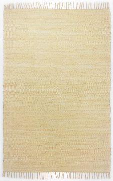 Bild: Webteppich Happy Cotton Uni (Beige; 230 x 160 cm)