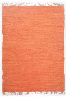Bild: Webteppich Happy Cotton Uni (Terrakotta; 140 x 70 cm)