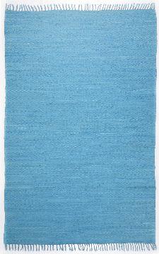 Bild: Webteppich Happy Cotton Uni (Türkis; 120 x 60 cm)