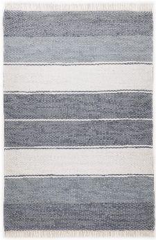 Bild: Webteppich Happy Design Stripes (Anthrazit; 250 x 70 cm)