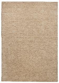Bild: Schurwollteppich Haltu Uni Gabbeh (Beige; 90 x 160 cm)