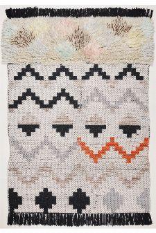 Bild: Berber Teppich Nomadic Design 3960 (Grau Multi; 140 x 200 cm)