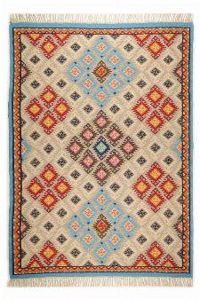 Bild: Ethno Teppich Kelus 6090 (Beige; 160 x 230 cm)