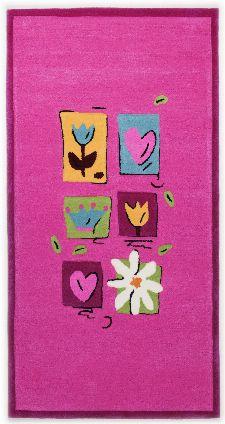 Bild: Kinderteppich Kindergarten MH-3658 (Pink; 120 x 180 cm)