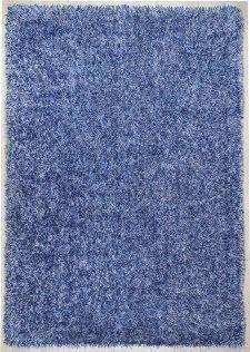 Bild: Teppich Girly Uni (Blau; 50 x 80 cm)